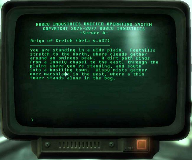 Fallout 3 Features a Very Real, Playable Text-Based Adventure Game