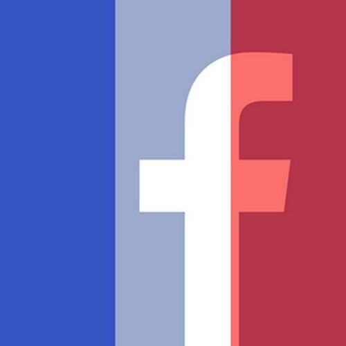 French Flag Facebook Warning