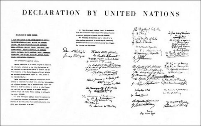 Declaration by United Nations (1942)
