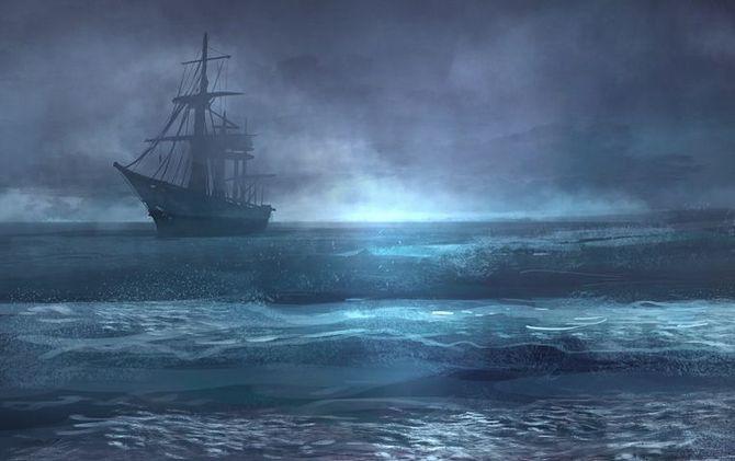 Blackbeard's Ghost Ship