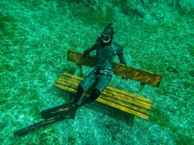 Grüner See: Underwater Park