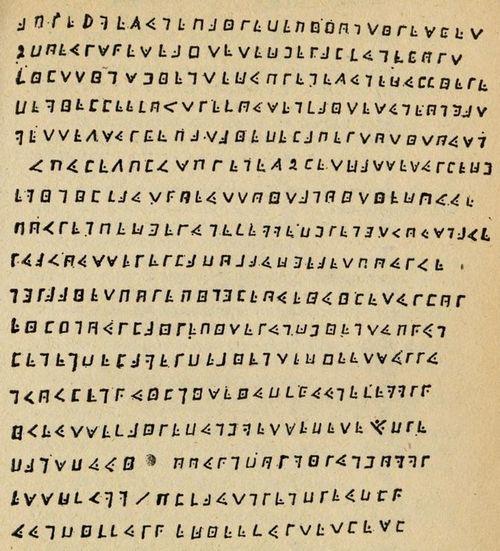 Olivier Levasseur's Cryptogram