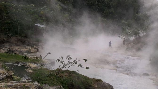 The Boiling River: Shanay-Timpishka