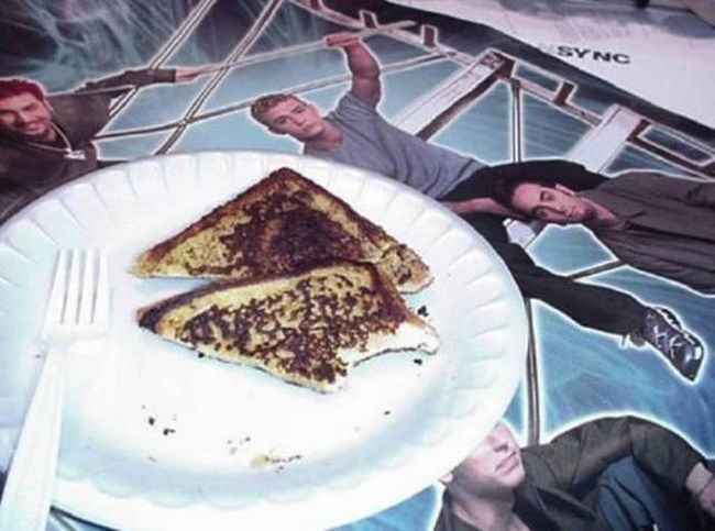 French Toast Eaten by Justin Timberlake