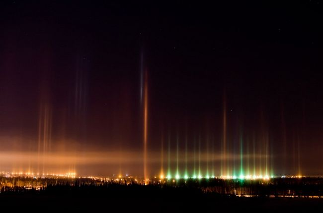 Light Pillar Phenomenon