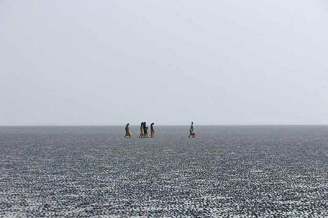 Chandipur Beach: Sea Disappears