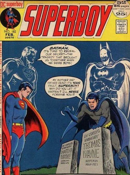 Superman Doesn't Save Batman's Parents