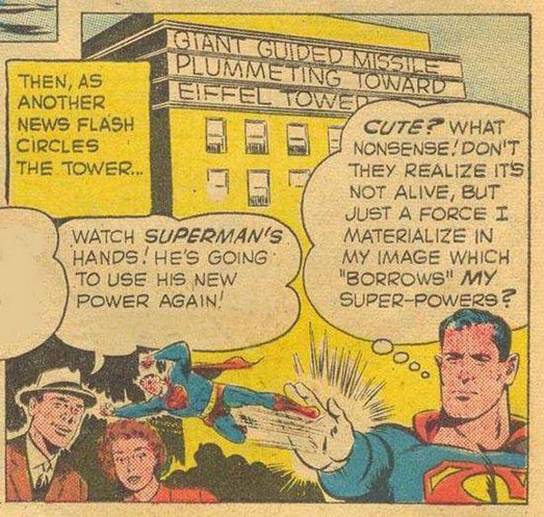Superman's Strangest Power