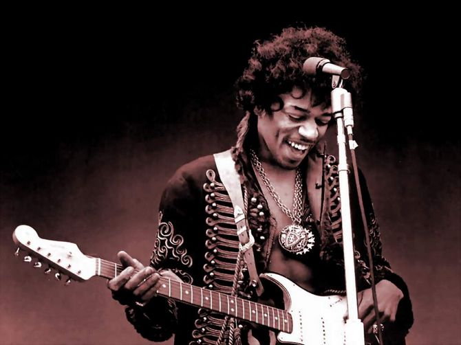 Jimi Hendrix's UFO Sighting