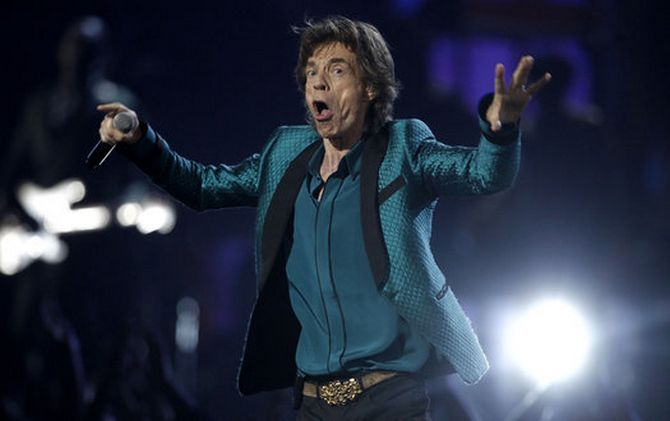 Mick Jagger: Camping with Aliens