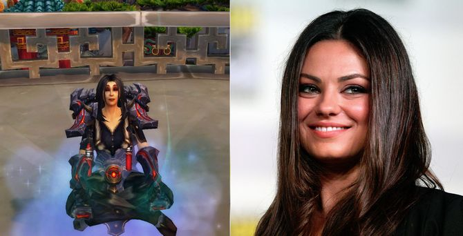 mila kunis world of warcraft