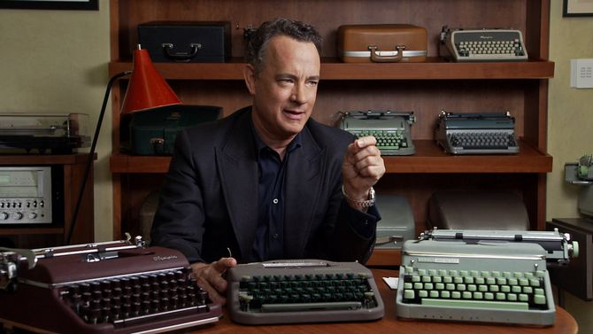 tom hanks typewriters